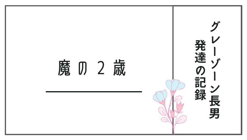 発達障害グレーゾーン長男小鉄のあゆみ~絶望していた2歳のころ〜