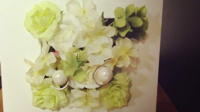 モントレ大阪で結婚式をした感想|リング