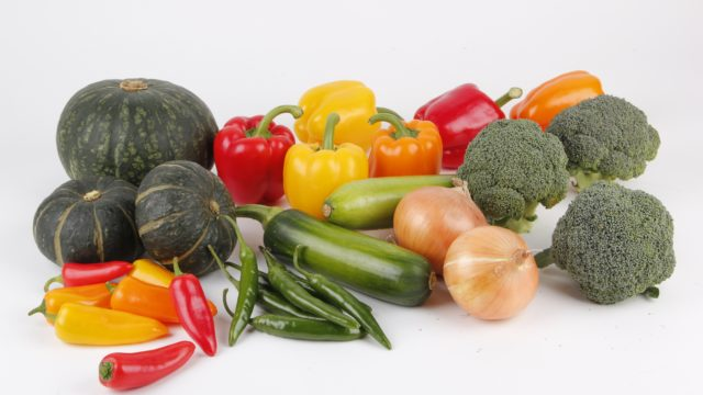 家焼肉の材料②野菜