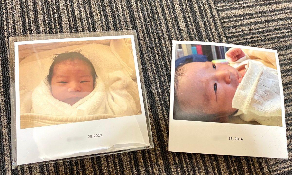 産後にノハナでフォトブックを作ったので見てほしい