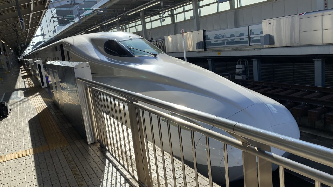 【新大阪駅】入場券を使って新幹線をひたすら見るだけという嗜み