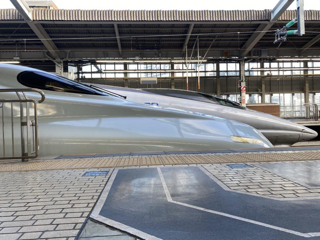 新大阪駅|500系新幹線・N700系新幹線